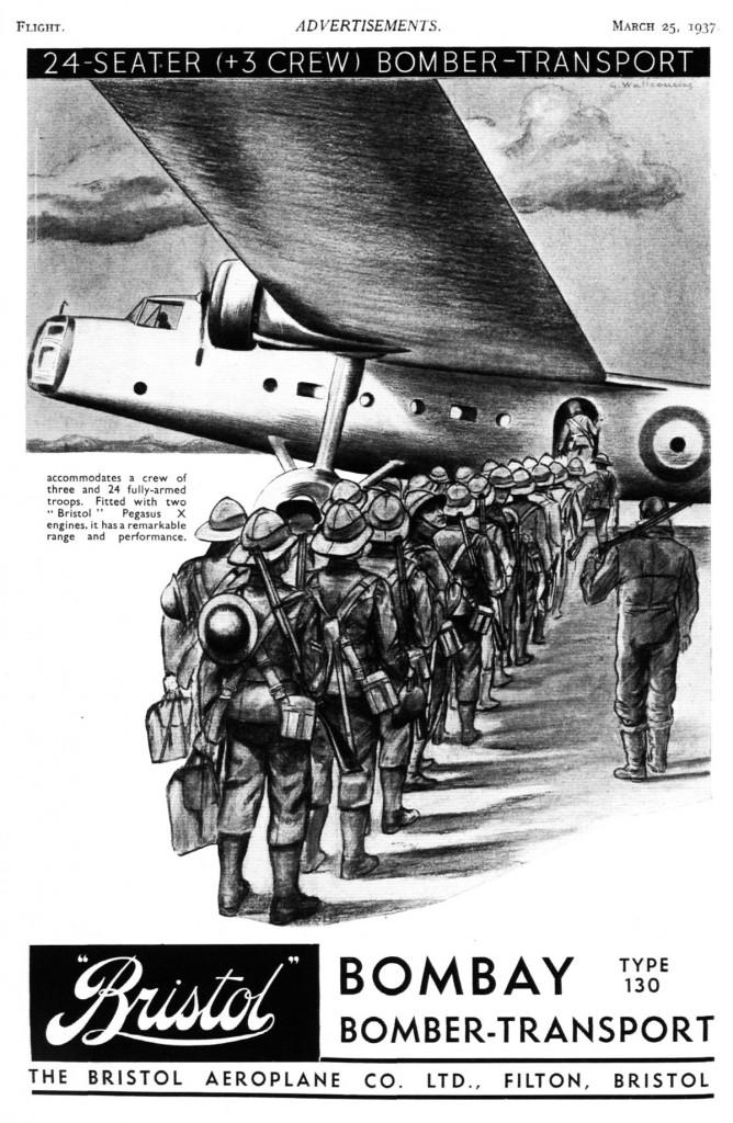 Bristol Bombay: bomber – transport