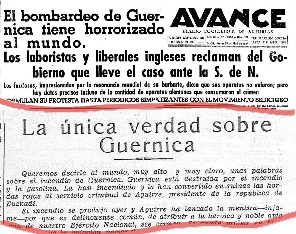 La prosaica verdad sobre el bombardeo de Guernica