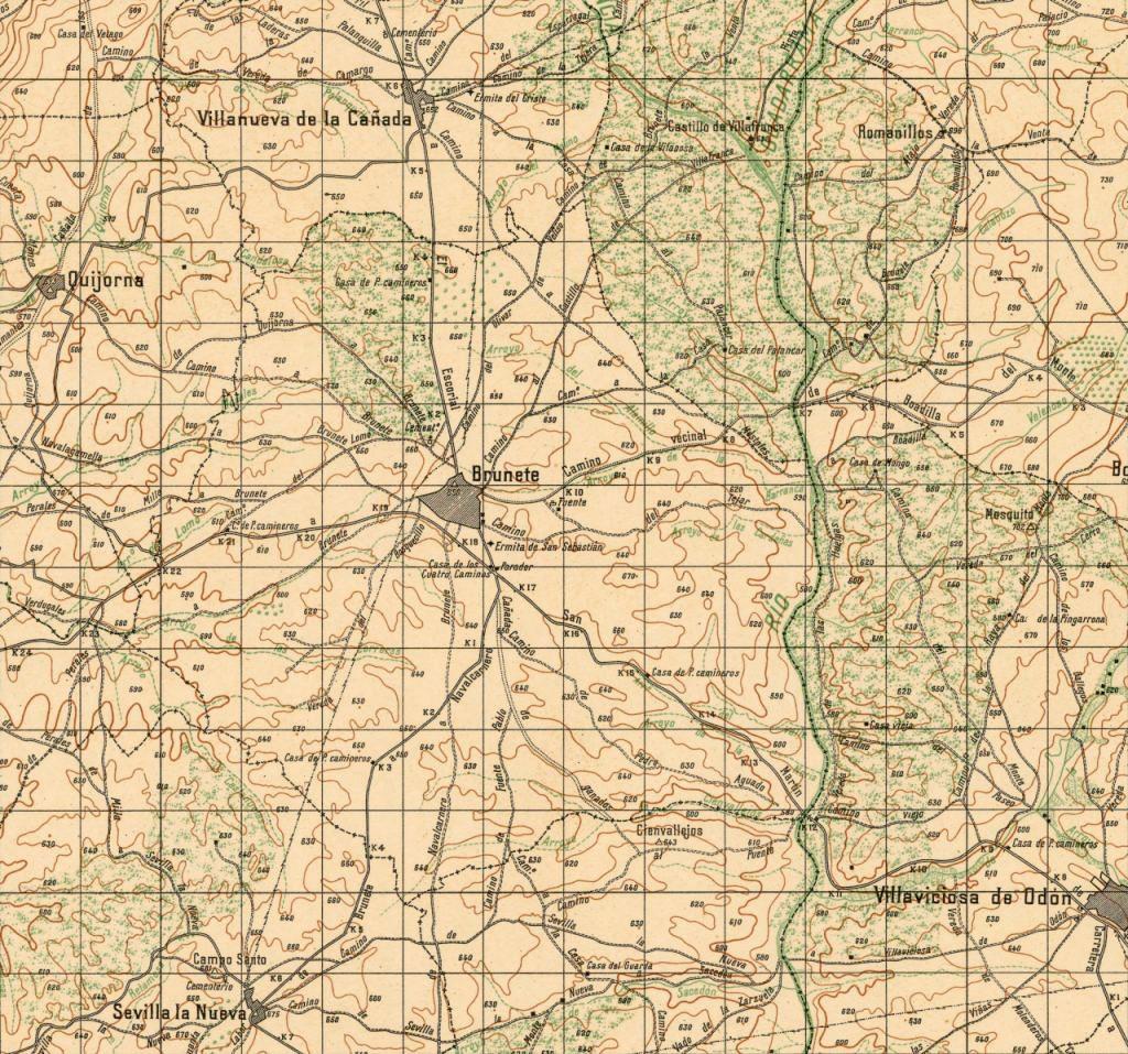 Mapas de antes, durante y después de la guerra