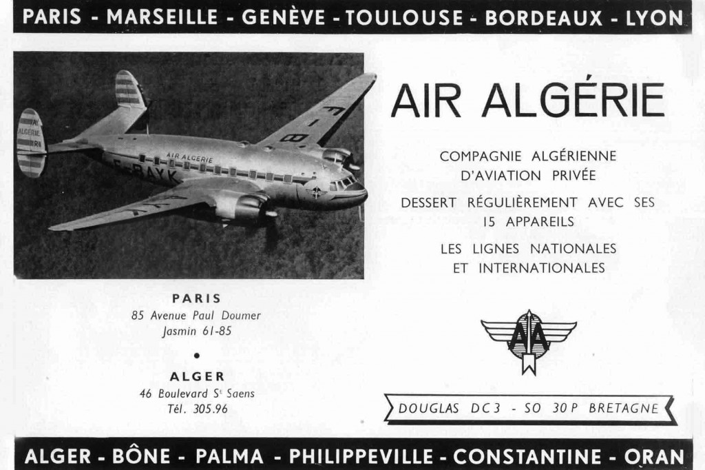 Air Algérie, 15 appareils