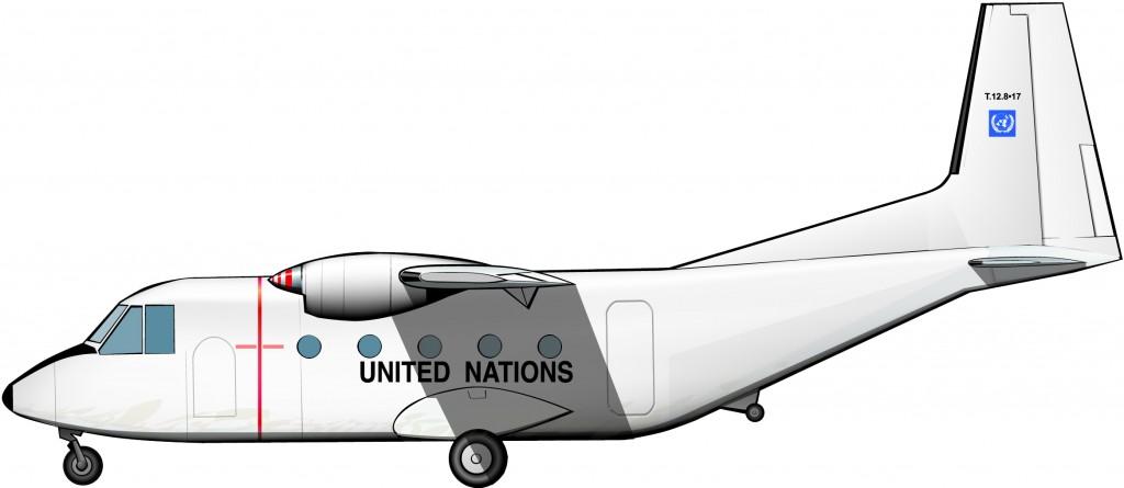 La fuerza aérea de la UNTAG