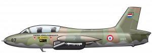 Xavantes de la Fuerza Aérea Paraguaya