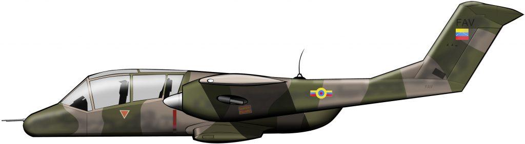 Un avión antiguerrilla para Venezuela