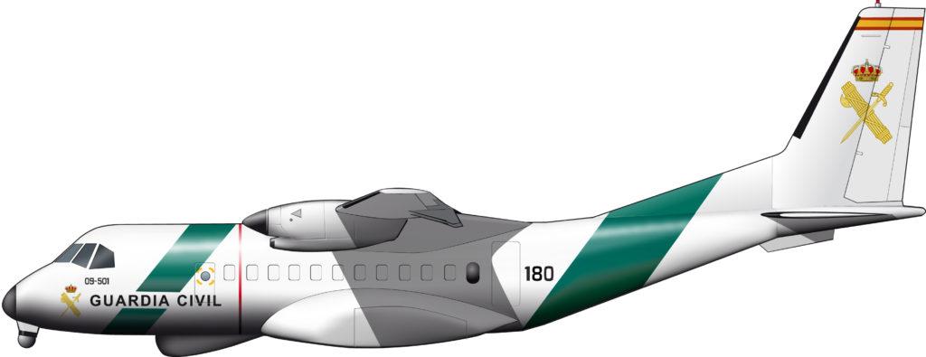 La aviación de la Guardia Civil