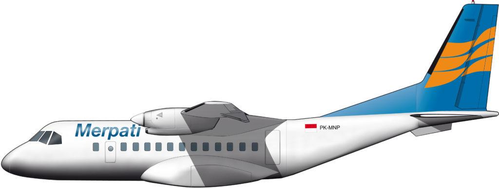 Merpati Nusantara, reticente usuaria del CN-235