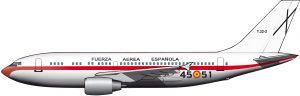 """""""El aspa negra con que se distingue la aviación española"""""""
