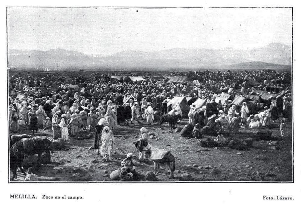 Melilla. Zoco en el campo