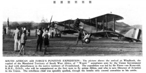Expedición de castigo de la Fuerza Aérea sudafricana