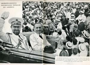 El Mariscal del Aire de Italia, Italo Balbo, en Nueva York