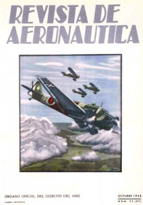 Revista de Aeronáutica, octubre de 1943