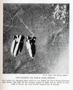 La Octava Fuerza Aérea sobre Berlín