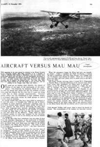 Aircraft versus Mau Mau (4 págs.)
