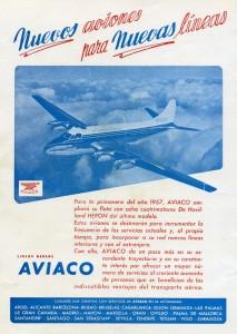 Aviaco: nuevos aviones para nuevas líneas