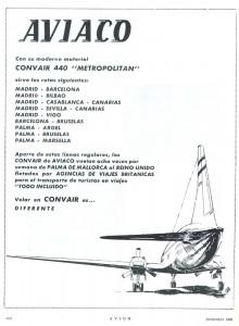 """Convair 440 """"Metropolitan"""" de Aviaco"""