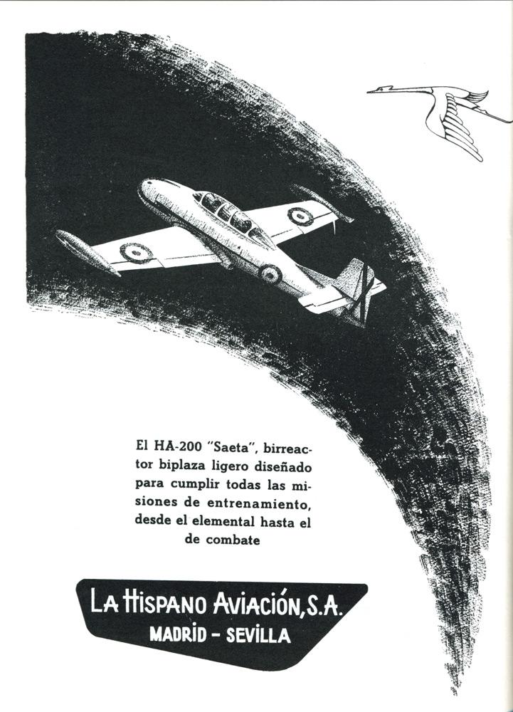 """El HA-200 """"Saeta"""""""