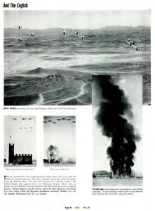 Bombarderos británicos practicando sobre el Sudán AngloEgipcio