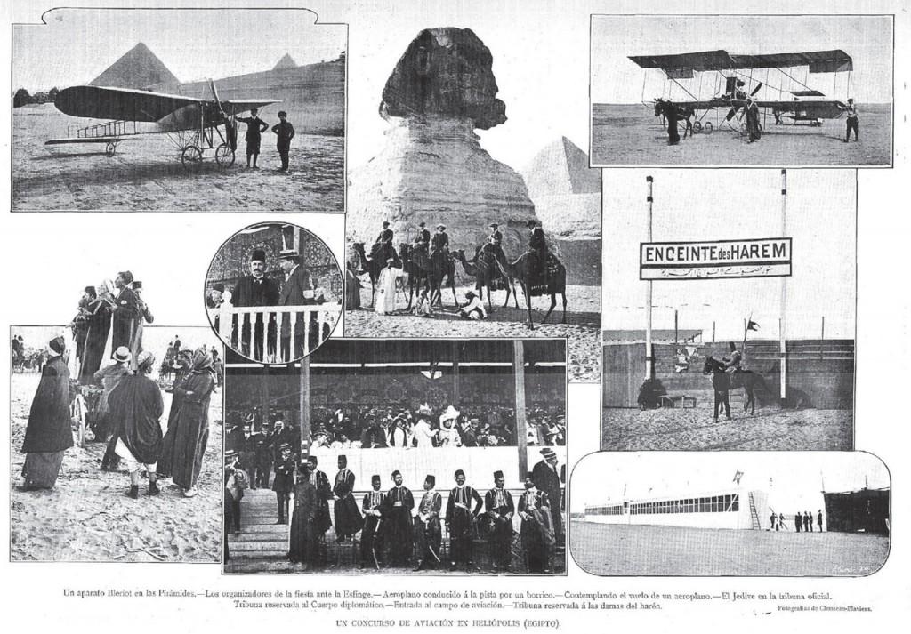 Un concurso de aviación en Heliópolis
