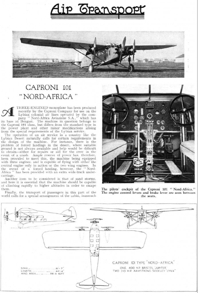 "Caproni 101 ""Nord-Africa"""