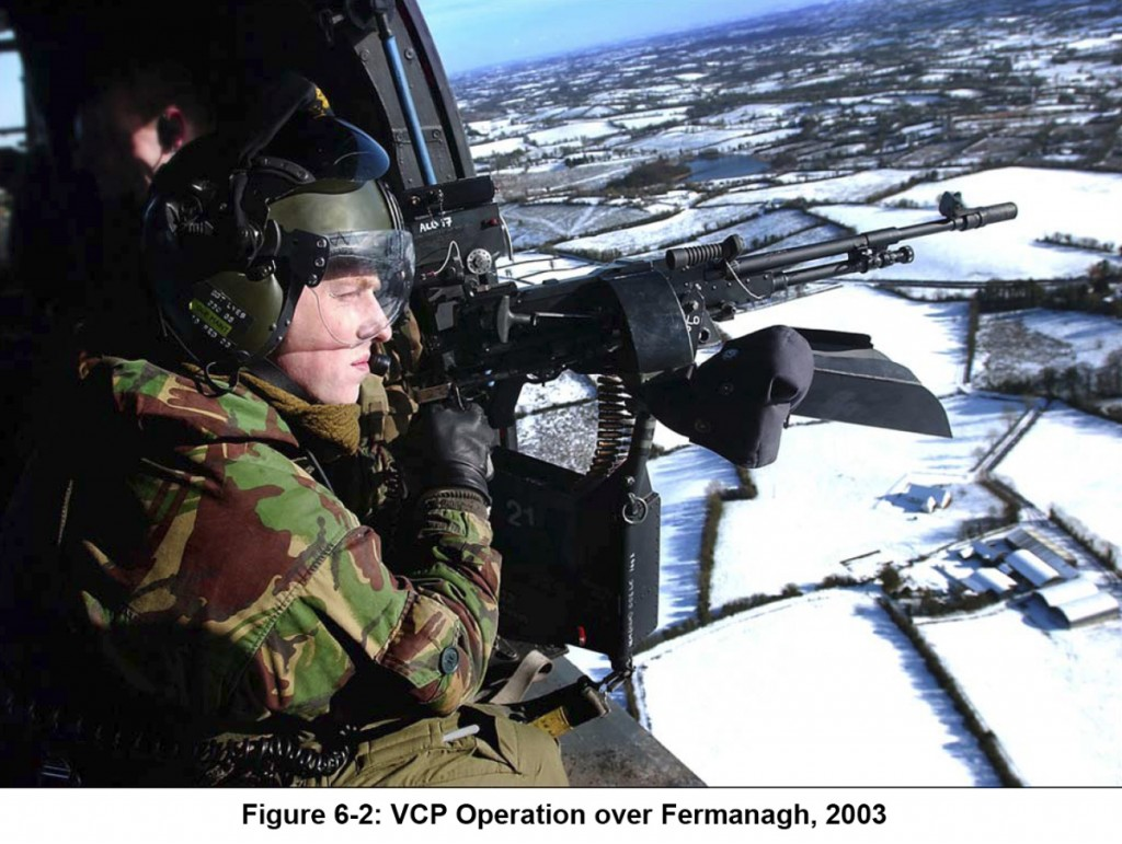 VCP Operation over Fermanagh, 2003