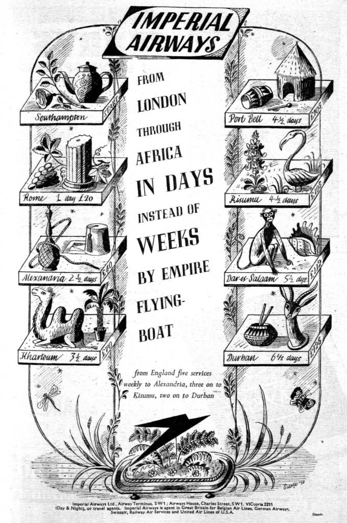 Imperial Airways advertisement