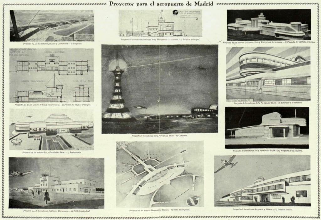 Proyectos para el aeropuerto de Madrid