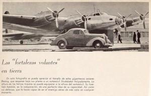 """Las """"fortalezas volantes"""" en tierra"""