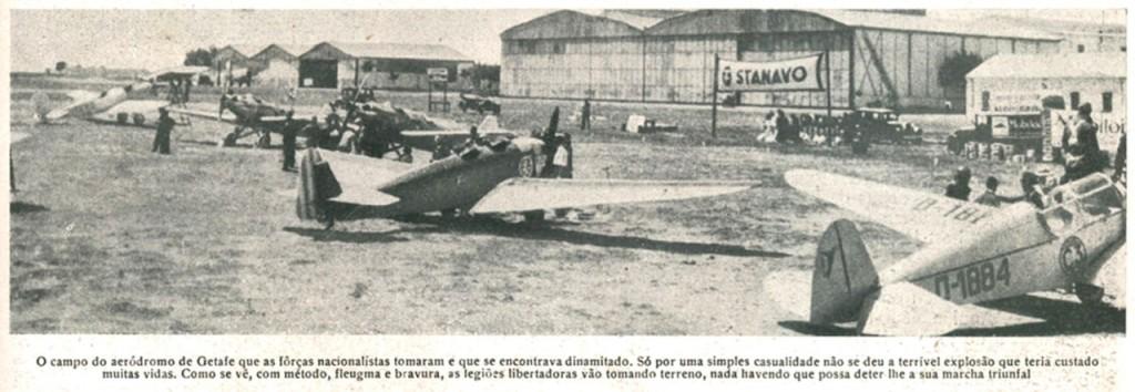 El aeródromo de Getafe