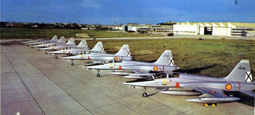 F-5 construidos en Sevilla