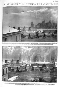 La aviación y la defensa de las ciudades
