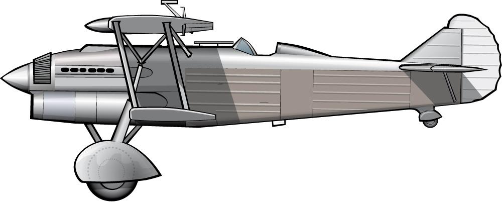 CR.32 (Fiat): el penúltimo biplano de guerra italiano