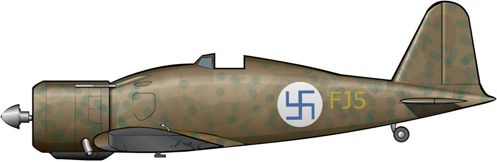 El Fiat G.50 en Finlandia