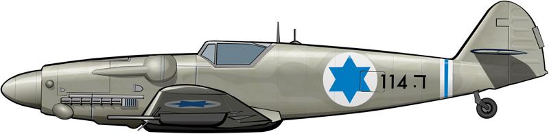 Avia 199: el primer avión de guerra de Israel