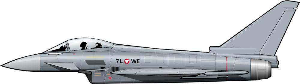 Taifuns para Austria: aviones Mach 2 para un pequeño país