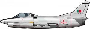 Un avión de la OTAN para la guerra colonial portuguesa