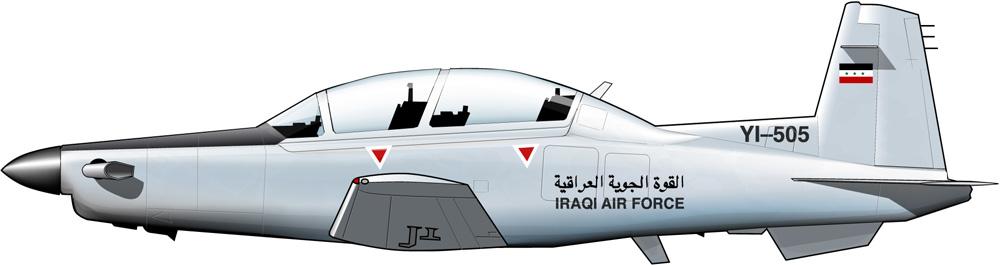 Texan II para la nueva fuerza aérea iraquí
