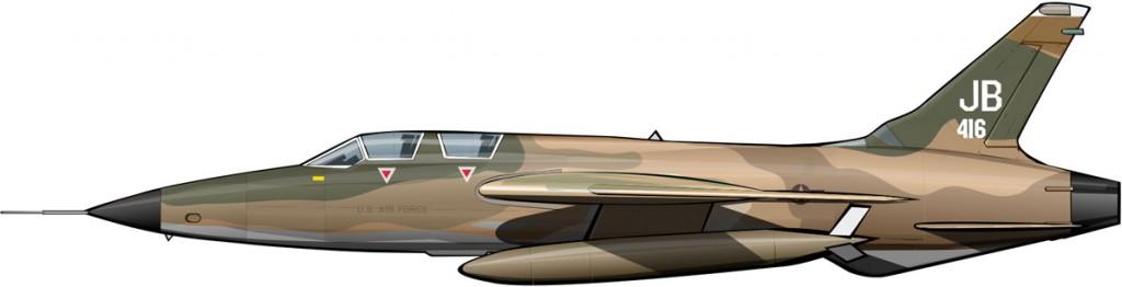 El avión de Rolling Thunder
