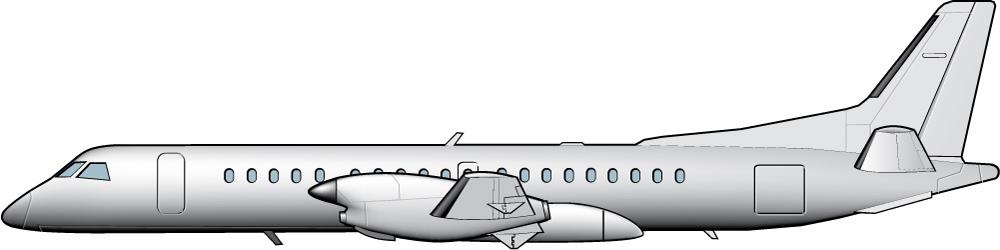 Saab 2000: de tecnología avanzada a anticuado avión de hélices