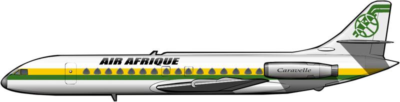 Caravelles de Air Afrique