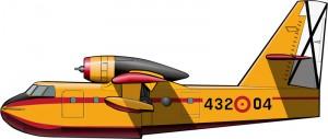 Un avión canadiense para el Mediterráneo