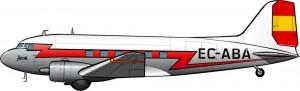 Los DC-3 de Iberia