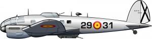 Un bombardero alemán para la guerra de Ifni