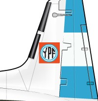 La aviación de YPF