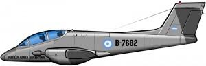 El avión argentino de contrainsurgencia