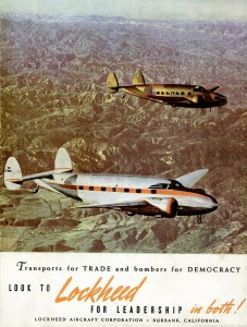 Transports for trade and bombers for democracy