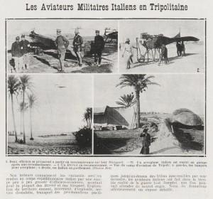 Les aviateurs militaires italiens en Tripolitaine