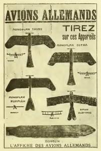 Avions allemands: tirez sur ces appareils