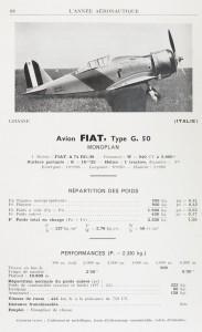 Avion Fiat, Type G.50