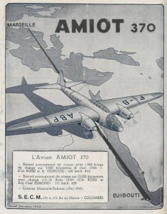L'avion Amiot 370