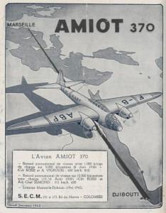 L'avion Amiot 370