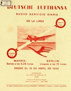 Lufthansa: nuevo servicio diario en la línea Madrid-Berlín